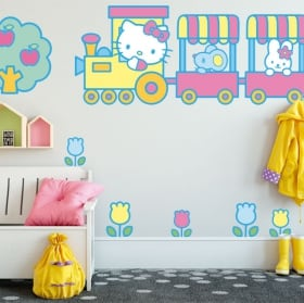 Vinilos infantiles hello kitty