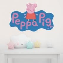 Vinilos infantiles peppa pig