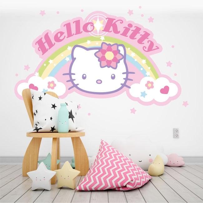 Vinilos Hello Kitty Pared.Vinilos Decorativos Hello Kitty