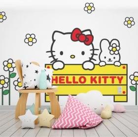 Vinilos hello kitty