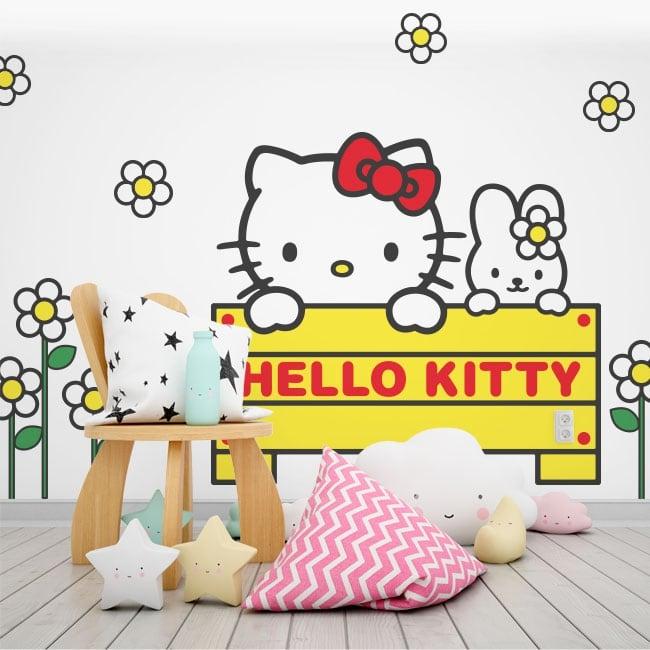 Vinilos Hello Kitty Pared.Vinilos Hello Kitty