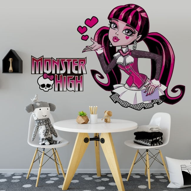 Vinilos y pegatinas monster high