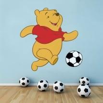 Vinilos decorativos winnie the pooh fútbol