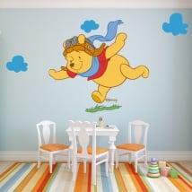 Vinilos infantiles winnie the pooh aviador