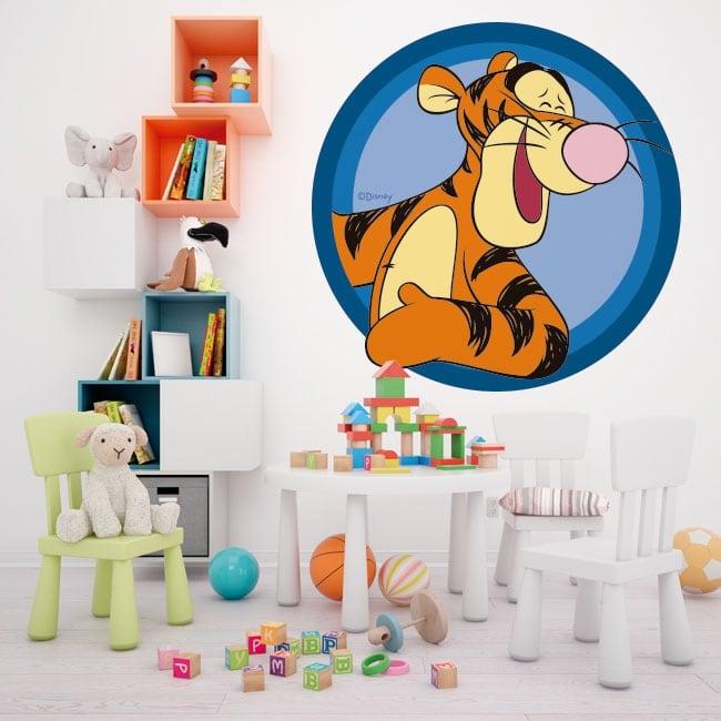 Vinilos paredes infantiles tigger winnie the pooh