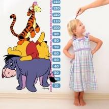 Vinilo infantil medidor winnie the pooh