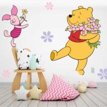 Vinilos paredes infantiles winnie the pooh