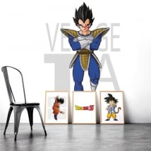 Vinilos y pegatinas dragon ball vegeta