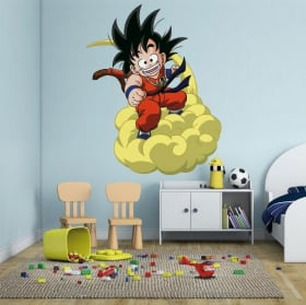Vinilos infantiles dragon ball son goku