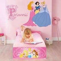 Vinilos adhesivos y pegatinas princesas disney