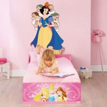 Vinilos decorativos disney blancanieves