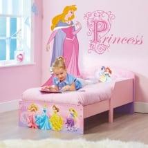Vinilo infantil princesa disney