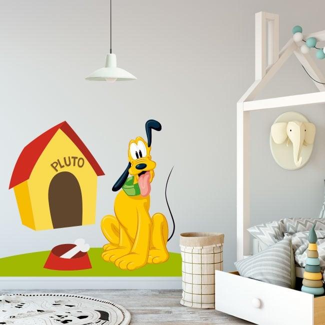 Vinilos decoración infantil disney pluto
