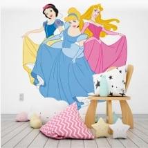 Vinilos decorativos y pegatinas princesas disney