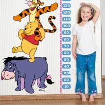 Vinilos infantiles medidores estatura winnie the pooh