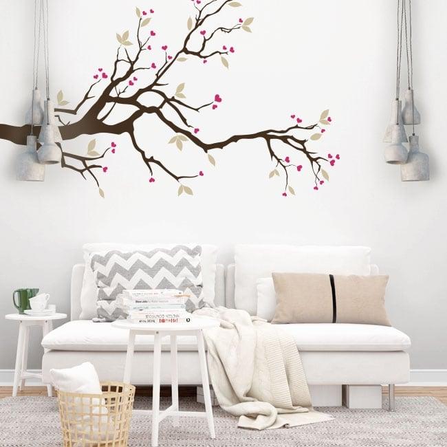 Vinilos y pegatinas rama de árbol