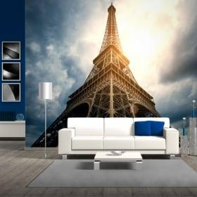 Fotomurales de vinilos torre eiffel parís francia