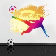 Vinilos y pegatinas decoración fútbol
