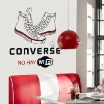 Vinilos adhesivos y pegatinas converse no hay wifi