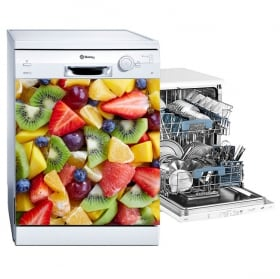 Vinilos y pegatinas frutas para lavavajillas