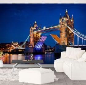 Fotomurales de vinilo london tower bridge