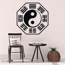 Vinilos decorativos y pegatinas yin yang