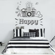 Vinilos y pegatinas smile and happy