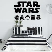 Vinilos decorativos y pegatinas star wars