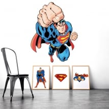 Vinilos decorativos y pegatinas superman