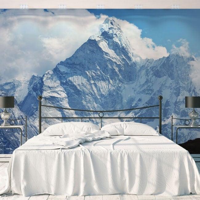 Fotomurales de vinilos montañas nevadas nepal