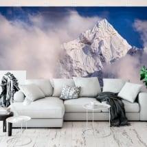 Fotomurales de vinilo pico kangtega montañas himalaya nepal