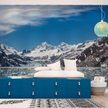 Fotomurales alaska parque nacional bahía de los glaciares