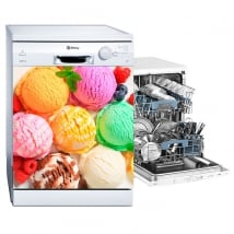 Vinilos decorativos para decorar lavavajillas helados