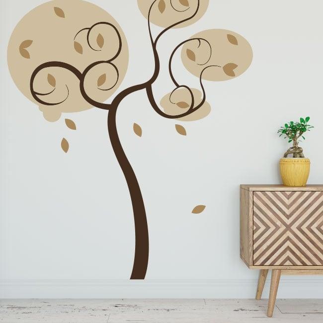 Vinilos decorativos y pegatinas árbol para decorar