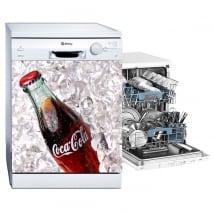 Vinilos para lavavajillas coca-cola