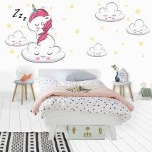 Vinilos y pegatinas unicornio dulces sueños