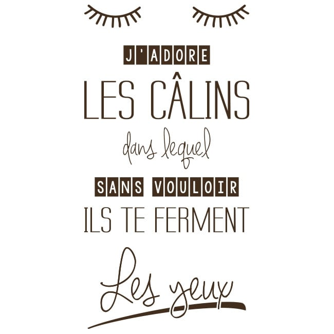 Vinilos Frases En Francés Me Gustan Los Abrazos
