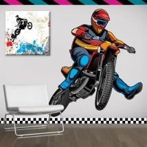 Vinilos decorativos y pegatinas motocross