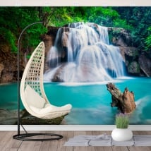 Fotomurales cascadas huay mae kamin tailandia