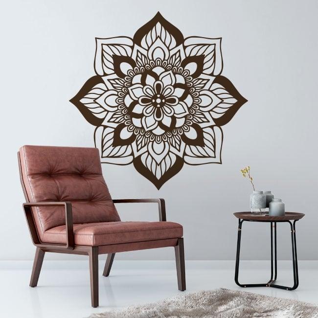 Vinilos decorativos y pegatinas mandala indio
