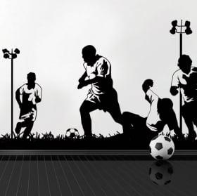 Vinilos y pegatinas jugadores de fútbol