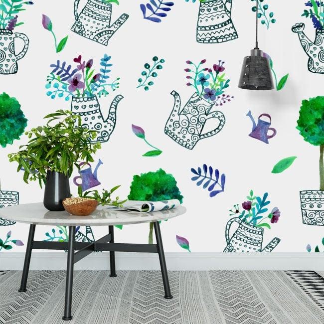 Fotomurales para decorar paredes y objetos jardín