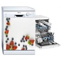 Vinilos decorativos frutas para lavavajillas
