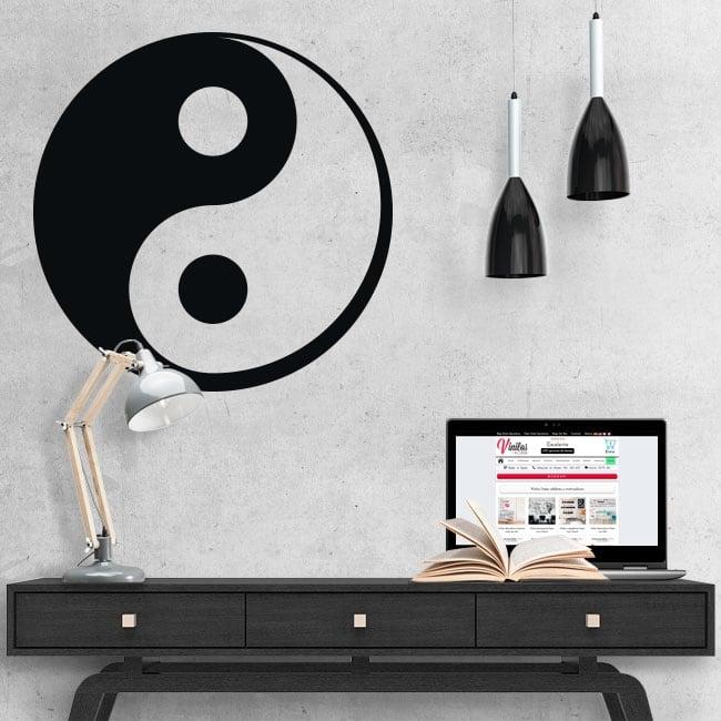 Vinilos decorativos yin yang