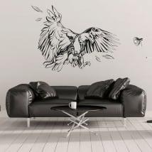 Vinilos decorativos y pegatinas águila