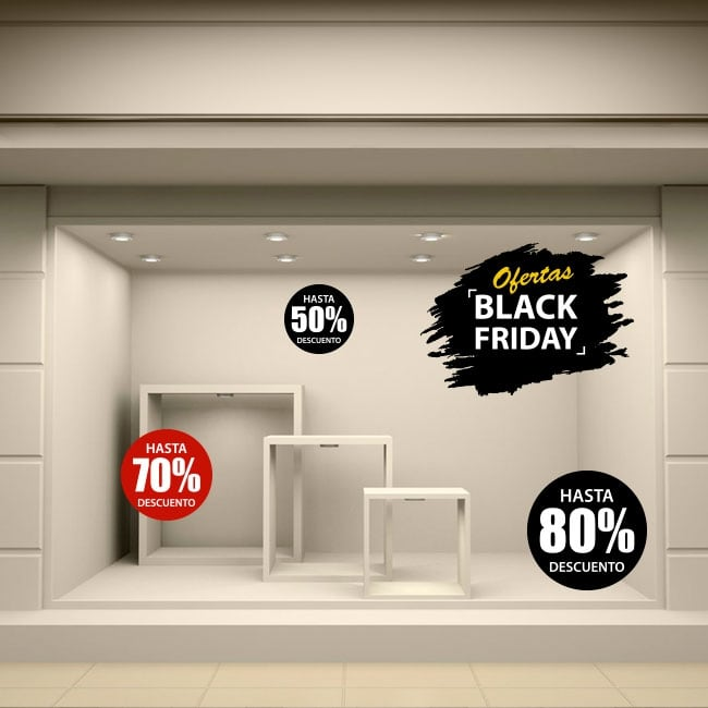 Vinilos para decorar black friday