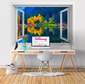 Vinilos decorativos washington lago jolanda 3d