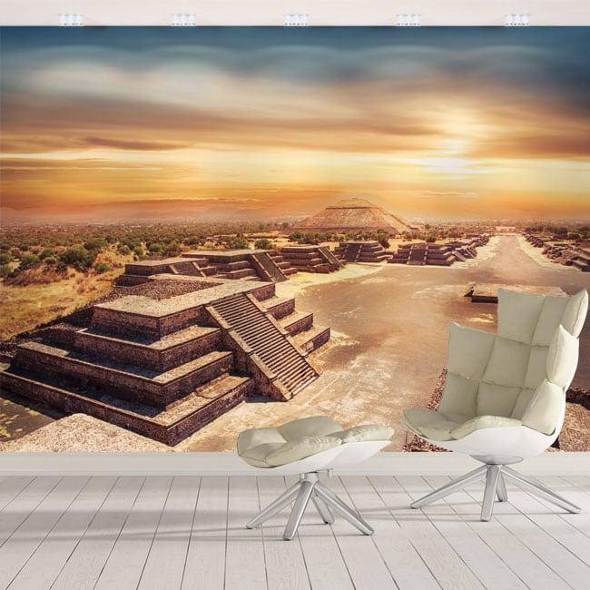 Fotomurales de vinilos méxico teotihuacán