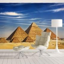 Fotomurales de vinilos pirámides de guiza
