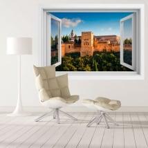 Vinilos decorativos la alhambra palacios nazaríes 3d